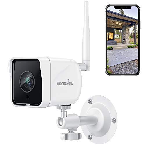 Wansview Cámara Vigilancia WiFi Exterior, 1080P Cámara IP WiFi...