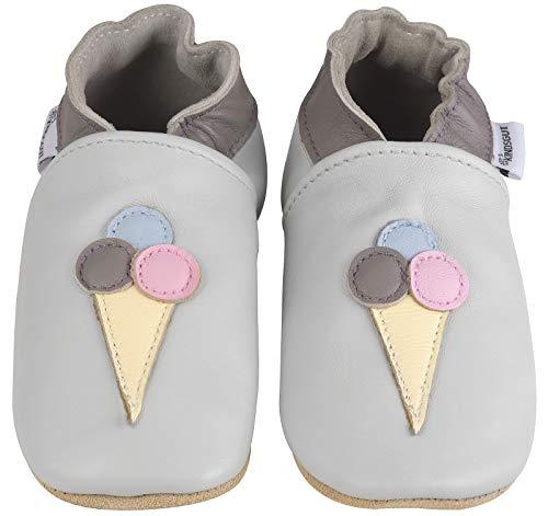 Kindsgut Krabbel-Schuhe, Kita, Baby, echtes Leder, Gr. 20/21, Eis