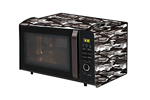The Furnishing Tree Microwave Oven Cover for Godrej 19 L Convection GMX 519 CP1 Camouflage Pattern Multicolor