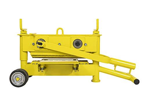 Orit Slab Master 43 - Cortador de ladrillo con láminas (altura de corte 10-120 mm, ancho de corte máximo 430 mm)