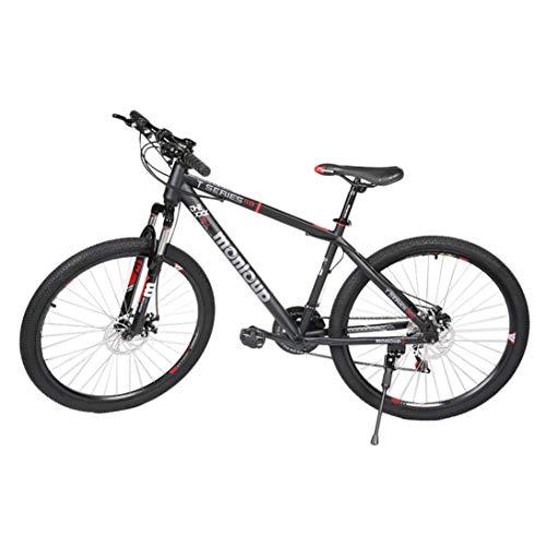 XINFULUK 26 Zoll faltbares Mountainbike 7-Fach faltbares Fahrrad Schwarz MTB Sport - Schwarz