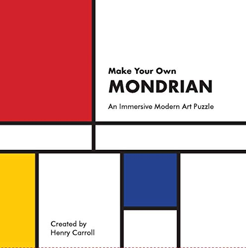 Make Your Own Mondrian: An Immersive Modern Art Puzzle: A Modern Art Puzzle