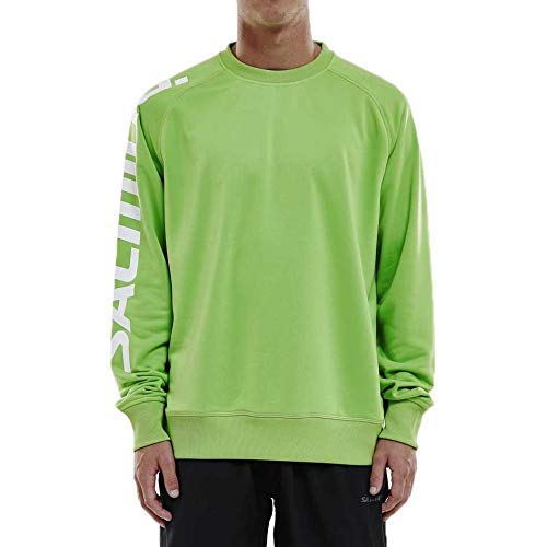 Salming Logo Warm Up Jersey Lime Green XXL