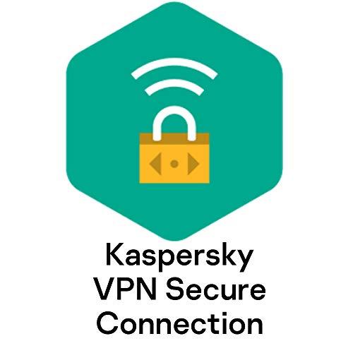 Kaspersky VPN Secure Connection | 5 Geräte | 1 Benutzerkonto | Jährliches Abo | PC/Mac/Android/iOS | Aktivierungscode per Email