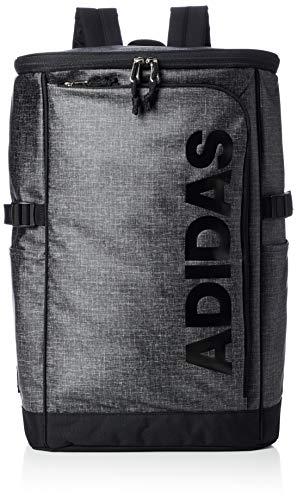 [アディダス] リュックサック MODEL.NO.57580 31L B4サイズ収納可 ウィメンズ ボックス型 大容量 ブラック/ブラック