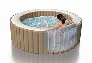 immagine di Intex PureSpa Bubble Massage Set, Ø 196 cm x 71 cm Whirlpool, Beige, Ø 196 x 71 cm