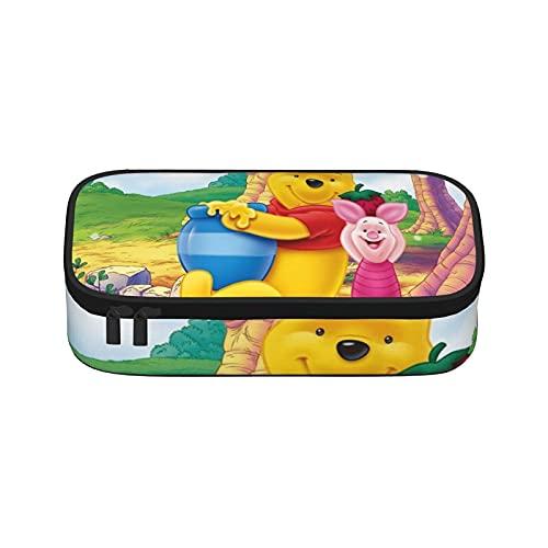 Winnie The Pooh Astuccio Anime Multifunzione Sacchetto di grande capacità Sacchetto di...
