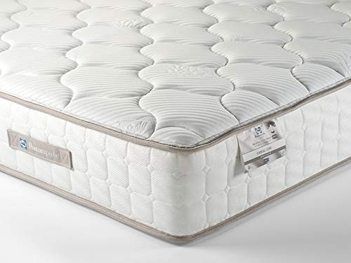 Sealy Casoli 1200 Mattress, Weight Responsive Pocket Springs, Innergetic Latex, Hypoallergenic, Medium