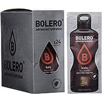 Bolero Bebida Instantánea sin Azúcar, Sabor Kola - Paquete de 24 x 9 gr - Total: 216 gr