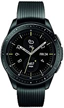 Samsung Galaxy Watch smartwatch (42mm, GPS, Bluetooth, Unlocked LTE) – Midnight Black (US Version with Warranty)