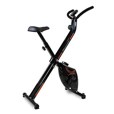 Tecnovita – Bicicleta estática EVO B1000 YF1000 – Bicicleta Plegable compacta