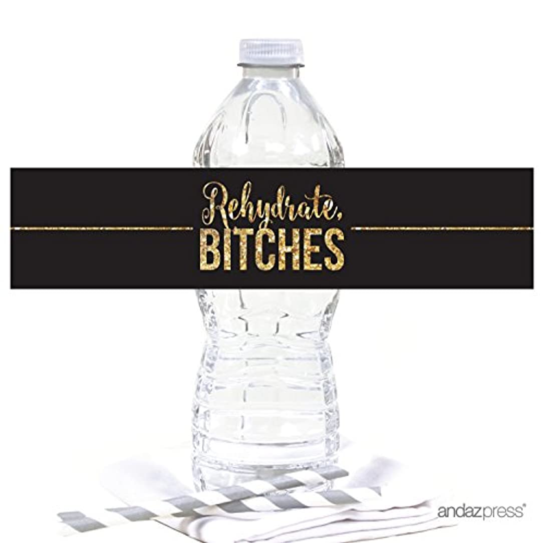 Andaz Press Cheers Bitches Bachelorette Party Collection, Water Bottle Label Stickers, 20-Pack kzcxajnqybmdgox7