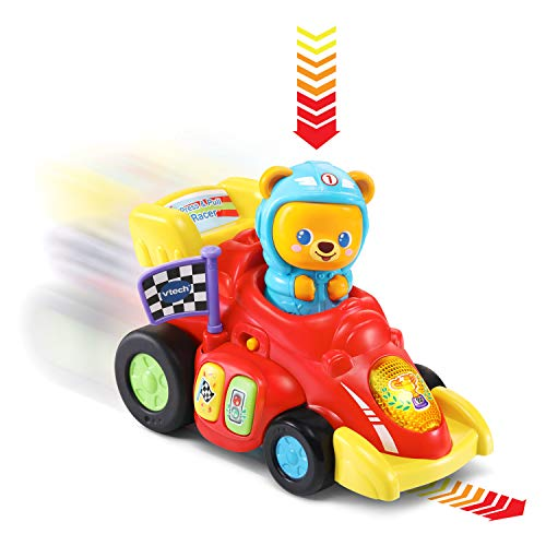 VTech Press and Pull Racer, Red