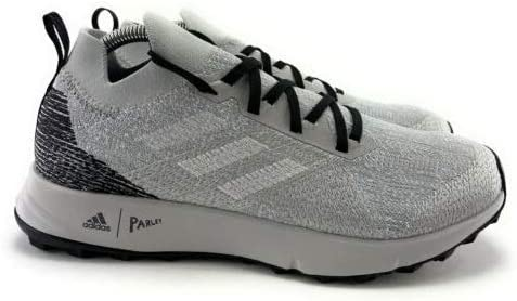 adidas Women's Terrex Two Parley Shoes Grey Two/White/Glow Blue