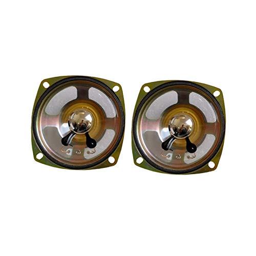 WNJ-TOOL, 2 stücke 3 Zoll 78mm wasserdichte Lautsprecher 8 ohm 5w Kohle Mine Alarm Lautsprecher Einheit Quadrat transparent Outdoor shoudspeaker (Größe : 3