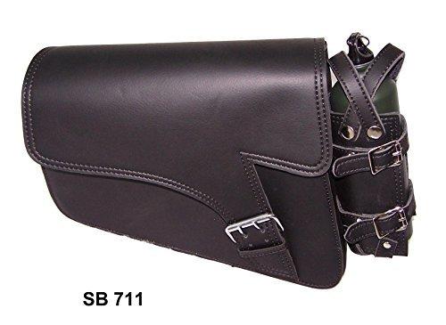 Motorcycle swing arm bag Solo Side Bag Single Saddlebag For Harley Davidson Sportster 883