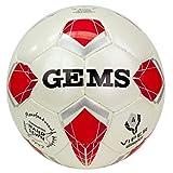 GEMS Pallone Viper Olimpico Ug04 Futsal Rimbalzo Controllato (Misura 4) Calcio A5