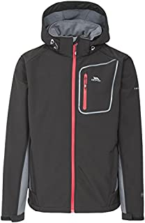 Trespass Men's Strathy Ii Waterproof Softshell Jacket with Detachable Hood