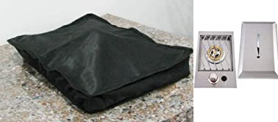 SUNSTONE COVERSB Weather Proof Cover for Drop-In Single Side Burner