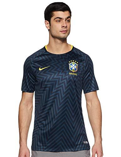 Camisa Nike Pré Jogo Brasil 893353 Masculina