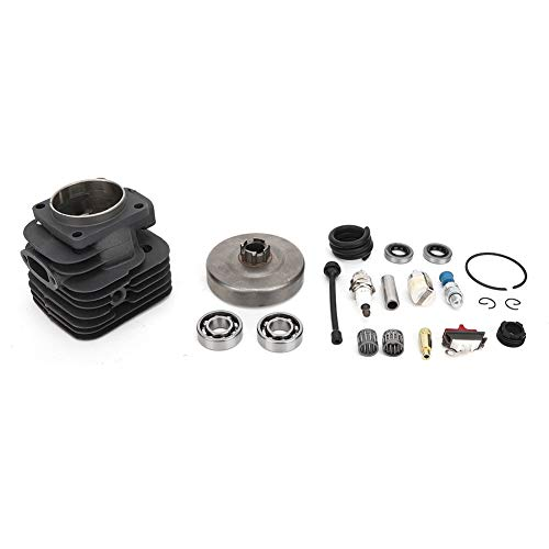 Kit de cilindro de pistón de 52 mm para motosierra Jonsered 625/625 II / 630 Super / 670 Champ