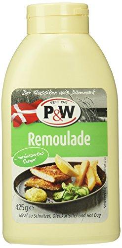 P&W Dänische Remouladen-Sauce, 7er Pack (7 x 425 ml)