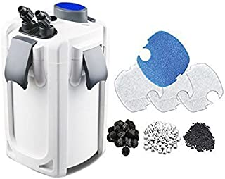 Sunsun HW704B 525Gph Pro Canister Filter Kit with 9W Uv Sterilizer