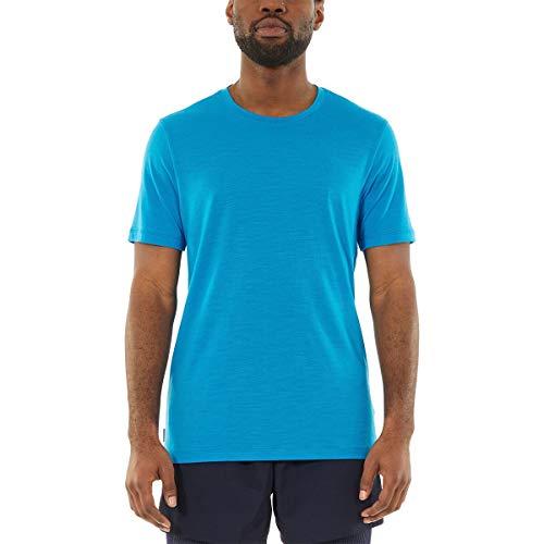 Icebreaker Tech Lite Herren Poloshirt, kurzärmelig, Größe M