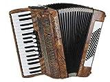 Weltmeister Piano Akkordeon Juwel Farbe: wurzelholzfarben