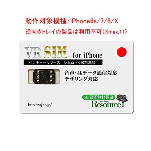 【vr26】SIMロック解除アダプタ for iPhone