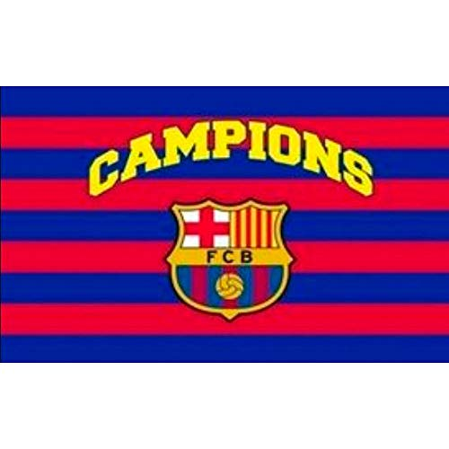 BANDERA FC BARCELONA CAMPIONS 150X100 CM