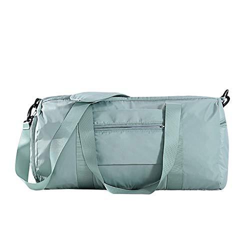 Amandaz Reisetasche Groß Faltbare Reisetaschen Leichte Sporttasche für männer mit Schuhfach für Weekender Herren Damen Duffel Taschen
