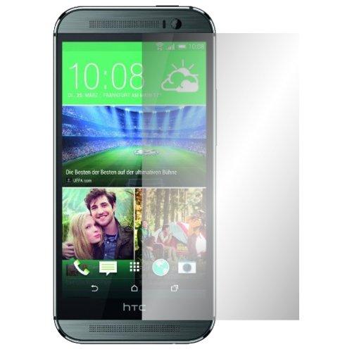 Slabo 4 x Bildschirmschutzfolie für HTC One M8 / M8S Bildschirmfolie Schutzfolie Folie Zubehör Crystal Clear KLAR