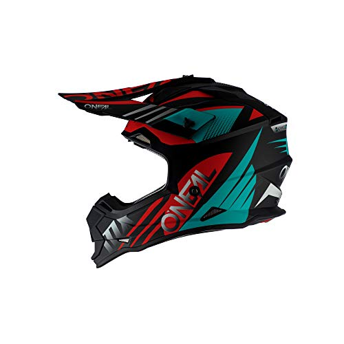 2SRS Helmet SPYDE 2.0 black/teal/red M (57/58cm)