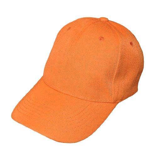 Uni Orange réglable Casquette de baseball X 10