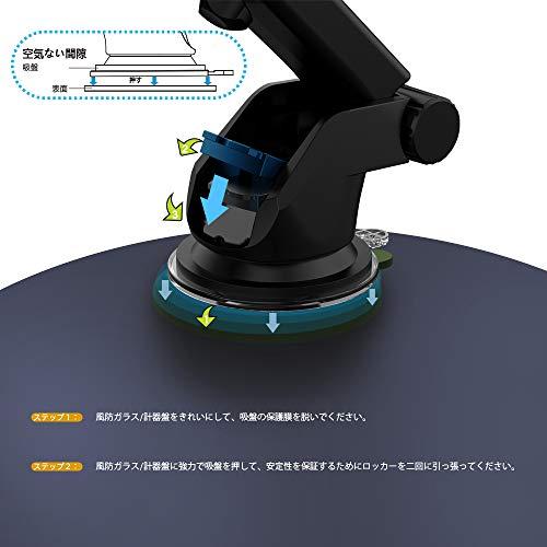 ZeeHoo『Auto-ClampingWirelessCarChargerMountPowerDrive60』