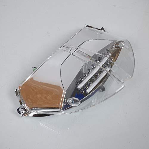 one by Camamoto cod 77204337 faro fanale stop posteriore a leds trasparente con frecce integrate compatibile con peugeot speedfight 2