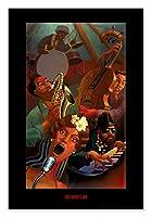 ポスター ジャスティン ブア Jazz Quintet