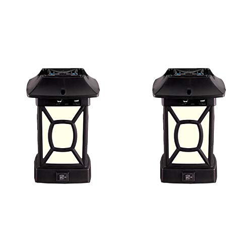 Thermacell Cambridge Outdoor Patio Mosquito Repeller Shield Lantern (2 Pack)