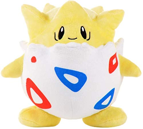 Kotee Plüschtiere 20cm Pokemon Togepi Karikatur-Plüsch-Puppe Spielzeug Nette Pokemon Togepi Anime-Plüsch-Puppe, weiche Plüschpuppen Kinder Kinder Geschenk