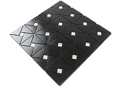 FEDZH Piastrella di Metallo Coperchio per Pannelli da Pannello per Pannelli da Specchio per Piastrelle da Cucina Piastra Mosaico a Mosaico 30 * 30cm 5pcs