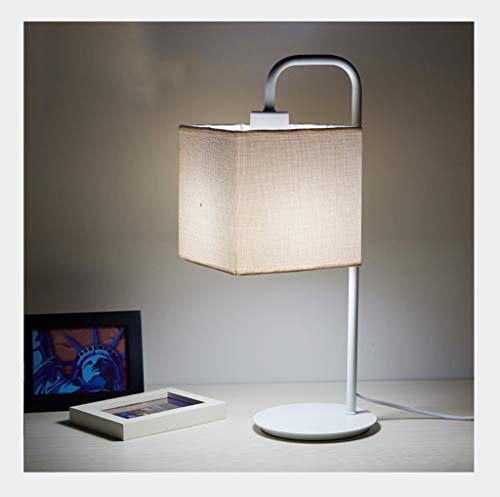 Lampe de table F Lampe de table Élégant et Simple Personnalité Chambre à coucher Chaud Fer Forgé Lampe De Chevet (Couleur : A)