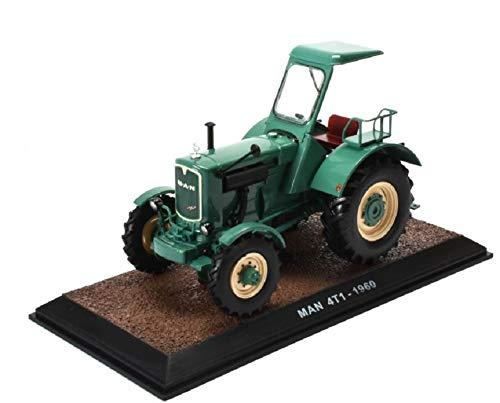 Historischer Traktor 1960 MAN 4T1 1:32 DieCast Metall Miniaturmodelle Modellauto