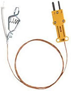 Fieldpiece ATAF1 High Temperature K-Type Thermocouple with Alligator Clip