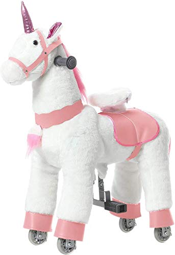 JoJoPooNy Ride on Unicorn Toy, Kids Ride...