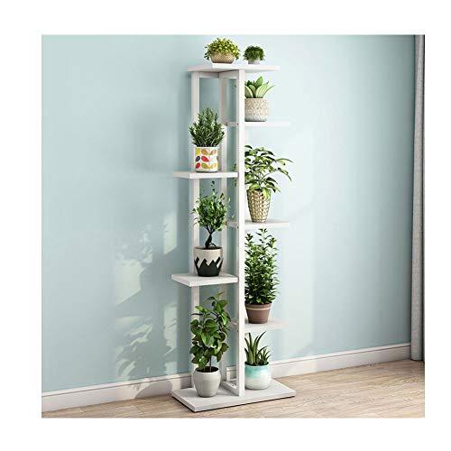 RKRXDH Pflanze Stehen Mini-Rack-Blumenständer Mehrschichtige Bonsai Blume Regal Balkon Wohnzimmer Indoor Blumentopf Rack (Color : Seven Layers C)
