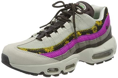 Nike Air MAX 95 PRM, Zapatillas Deportivas Mujer, Light Bone White Velvet Brown Olive Grey, 38 EU