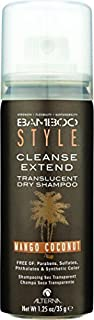 Alterna Bamboo Style Cleanse Extend Translucent Dry Shampoo - Mango Coconut - 1.25 oz by Alterna