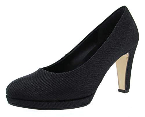 Gabor Shoes Damen Fashion Pumps, Schwarz (Schwarz 67), 39 EU