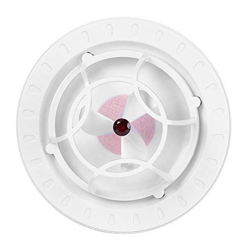 Jiawu Lavadora de Platos, Mini lavaplatos ultrasónico para la Oficina del apartamento pequeño y la Cocina del hogar, Limpiador portátil para Lavar Platos con USB para el hogar(Rojo)